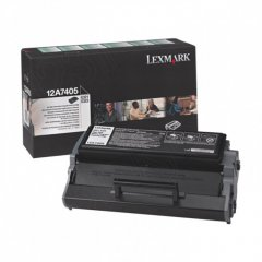 Lexmark 12A7405 High-Yield Black OEM Laser Toner Cartridge