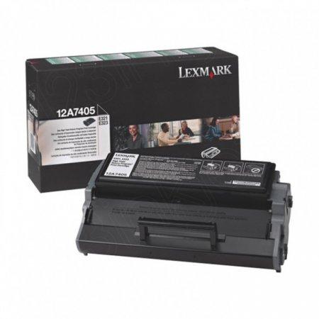 Lexmark 12A7405 High-Yield Black OEM Laser Toner Cartridge