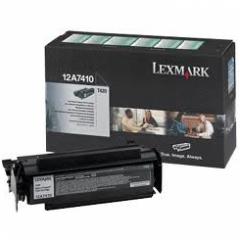 Lexmark 12A7410 Black OEM Laser Toner Cartridge