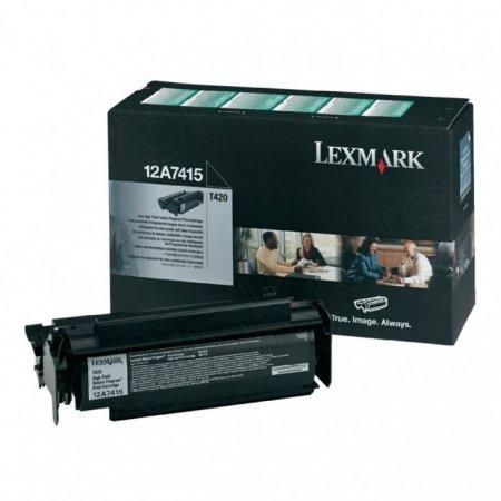 Lexmark 12A7415 High-Yield Black OEM Laser Toner Cartridge