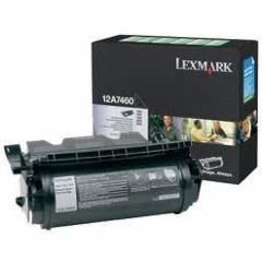Lexmark 12A7460 Black OEM Laser Toner Cartridge