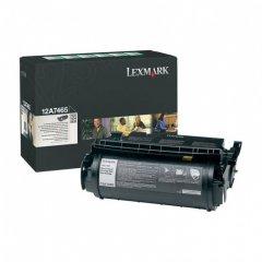 Lexmark 12A7465 EHY Black OEM Laser Toner Cartridge