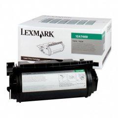 Lexmark 12A7469 EHY Black OEM Laser Toner Cartridge