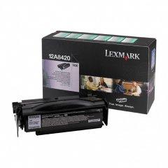 Lexmark 12A8420 Black OEM Laser Toner Cartridge