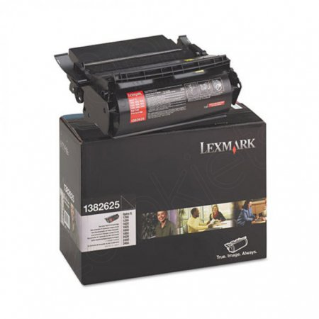 Lexmark 1382625 High Yield Black OEM Laser Toner Cartridge