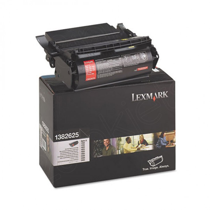 Lexmark 1382625 High Yield Black OEM Laser Toner Cartridge