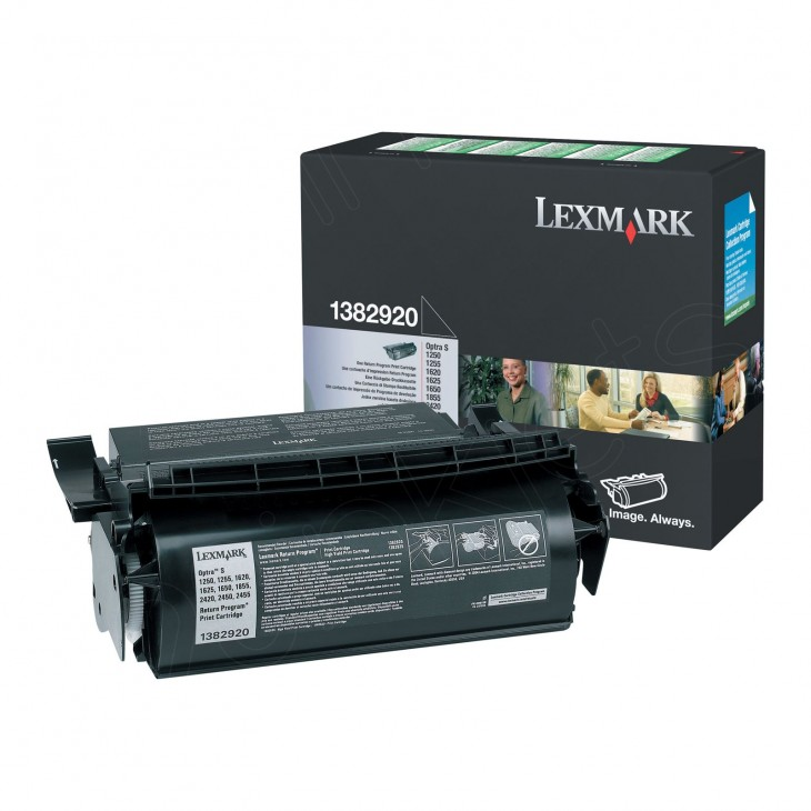 Lexmark 1382920 Black OEM Laser Toner Cartridge