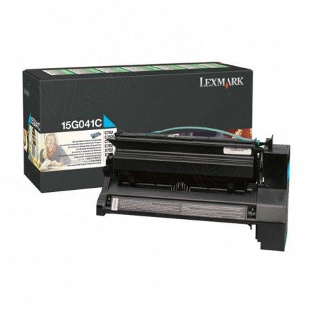 Lexmark 15G041C Cyan OEM Laser Toner Cartridge