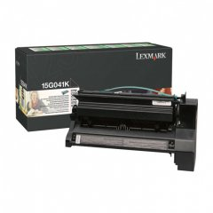 Lexmark 15G041K Black OEM Laser Toner Cartridge