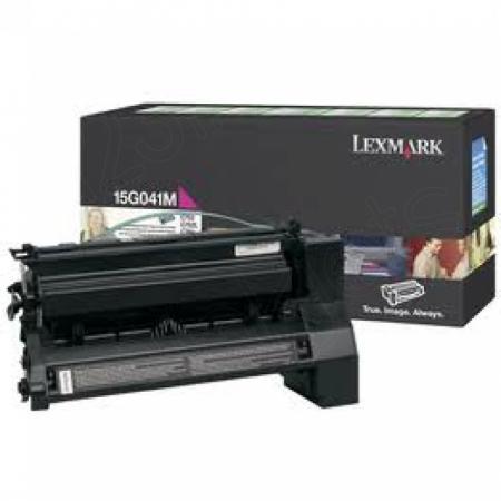 Lexmark 15G041M Magenta OEM Laser Toner Cartridge