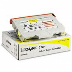 Lexmark 15W0902 Yellow OEM Laser Toner Cartridge