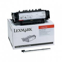 Lexmark 17G0154 High Yield Black OEM Laser Toner Cartridge