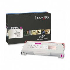 Lexmark 20K0501 Magenta OEM Laser Toner Cartridge
