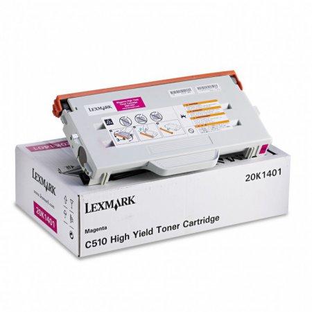 Lexmark 20K1401 High Yield Magenta OEM Toner Cartridge