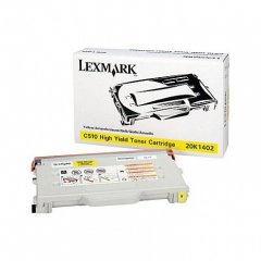 Lexmark 20K1402 High Yield Yellow OEM Laser Toner Cartridge