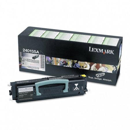 Lexmark 24015SA Black OEM Laser Toner Cartridge