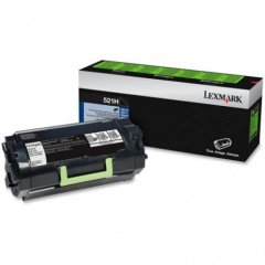 Lexmark 52D1H00 High-Yield Black OEM Laser Toner Cartridge