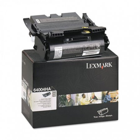 Lexmark 64004HA High-Yield Black OEM Laser Toner Cartridge