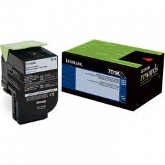Genuine Lexmark 70C10K0 Black Laser Print Cartridge