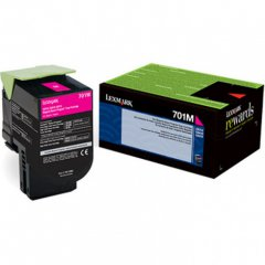 Genuine Lexmark 70C10M0 Magenta Laser Print Cartridge