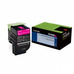 Lexmark 70C1XM0 EHY Magenta OEM Laser Toner Cartridge