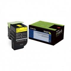 Lexmark 70C1XY0 EHY Yellow OEM Laser Toner Cartridge