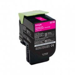 Lexmark 80C10M0 Magenta OEM Laser Toner Cartridge