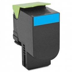 Lexmark 80C1SC0 Cyan OEM Laser Toner Cartridge