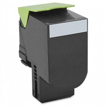Lexmark 80C1SK0 Black OEM Laser Toner Cartridge