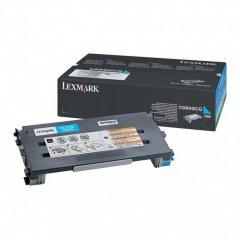 Lexmark C500H2CG High Yield Cyan OEM Laser Toner Cartridge