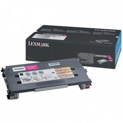 Lexmark C500H2MG High Yield Magenta OEM Toner Cartridge