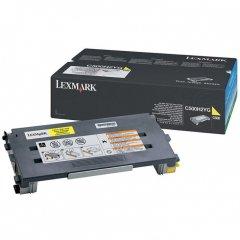 Lexmark C500H2YG High Yield Yellow OEM Toner Cartridge