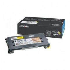 Lexmark C500S2YG Yellow OEM Laser Toner Cartridge