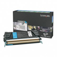 Lexmark C5200CS Cyan OEM Laser Toner Cartridge