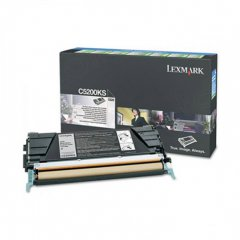 Lexmark C5200KS Black OEM Laser Toner Cartridge