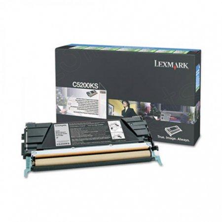 Lexmark C5200KS Black OEM Laser Toner Cartridge