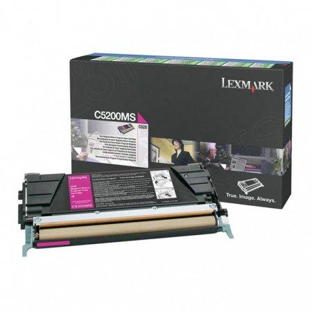 Lexmark C5200MS Magenta OEM Laser Toner Cartridge