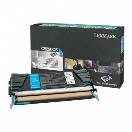 Lexmark C5220CS Cyan OEM Laser Toner Cartridge