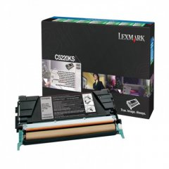 Lexmark C5220KS Black OEM Laser Toner Cartridge