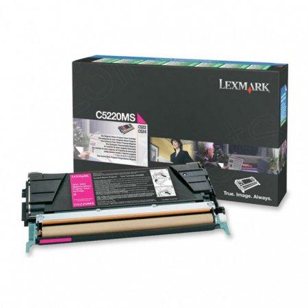 Lexmark C5220MS Magenta OEM Laser Toner Cartridge