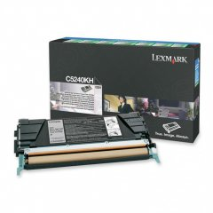 Lexmark C5240KH High-Yield Black OEM Laser Toner Cartridge