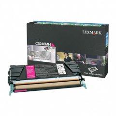 Lexmark C5240MH High-Yield Magenta OEM Toner Cartridge