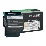 Lexmark C540A1KG Black OEM Laser Toner Cartridge