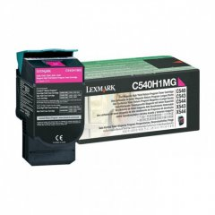 Lexmark C540H1MG High-Yield Magenta OEM Toner Cartridge