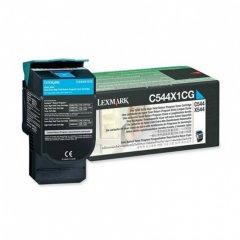 Lexmark C544X1CG EHY Cyan OEM Laser Toner Cartridge