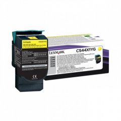Lexmark C544X1YG EHY Yellow OEM Laser Toner Cartridge