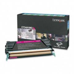 Lexmark C734A1MG Magenta OEM Laser Toner Cartridge