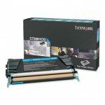 Lexmark C736H1CG High-Yield Cyan OEM Laser Toner Cartridge
