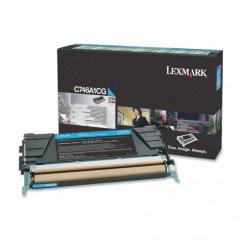 Lexmark C746A1CG Cyan OEM Laser Toner Cartridge