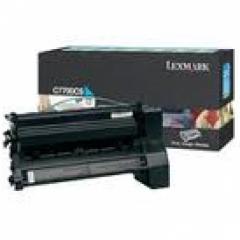 Lexmark C7700CS Cyan OEM Laser Toner Cartridge